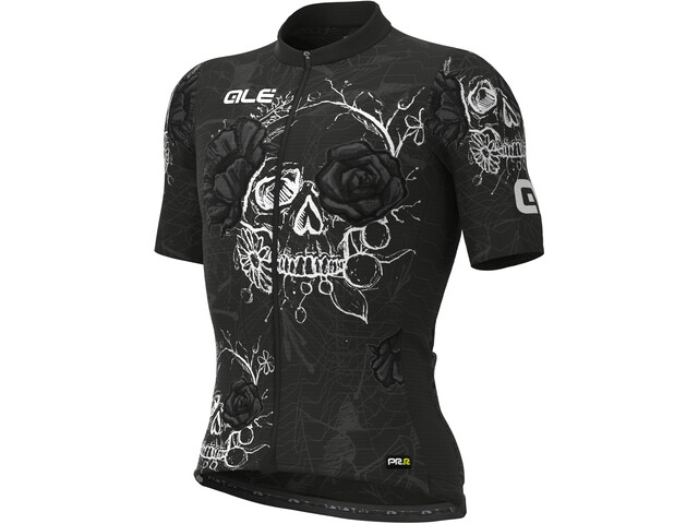 Alé Cycling PRR Skull SS Jersey Men, negro